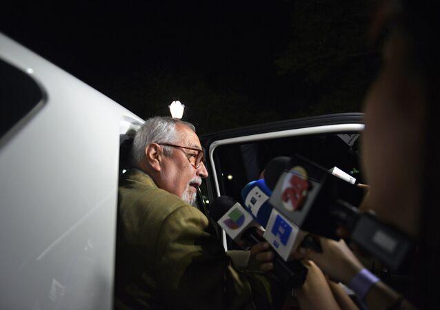 Il leader dell'opposizione in Venezuela Ramon Guillermo Aveledo.