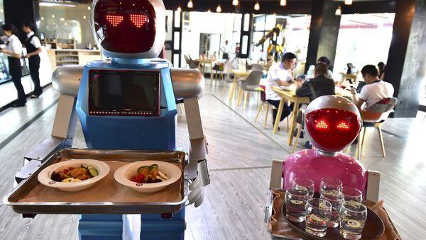 Due robot scelgono il cibo - Sputnik Italia