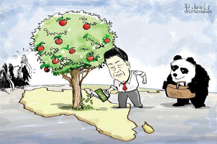 Xi investe in Africa