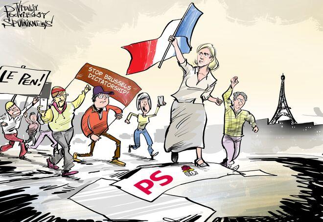 La vittoria di Marine Le Pen