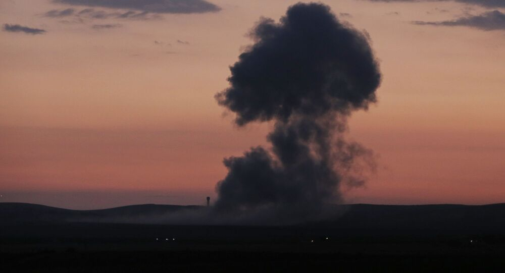 Bombardamenti in Siria