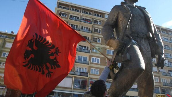 La bandiera dell'Albania - Sputnik Italia