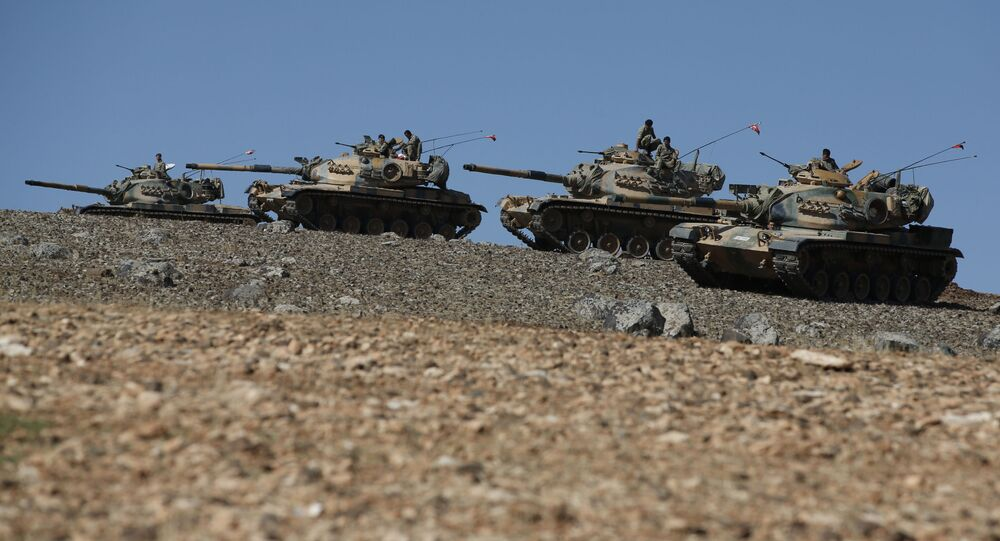 Carri armati turchi in Iraq