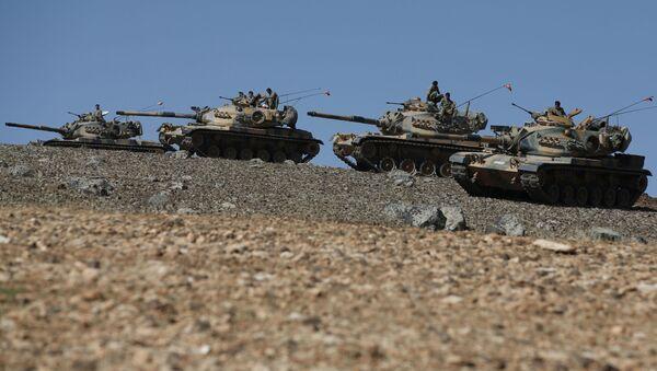 Carri armati turchi in Iraq - Sputnik Italia