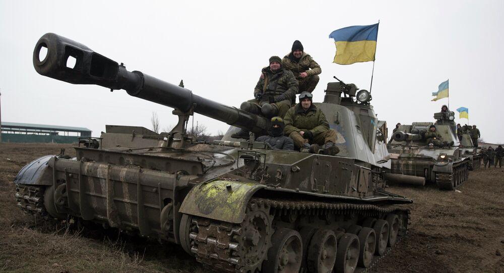 Mezzi corazzati dell'esercito ucraino