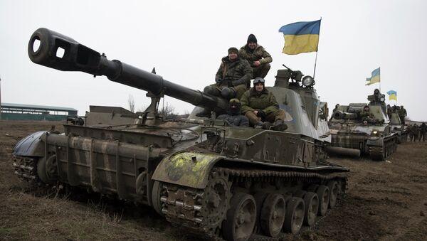 Mezzi corazzati dell'esercito ucraino - Sputnik Italia
