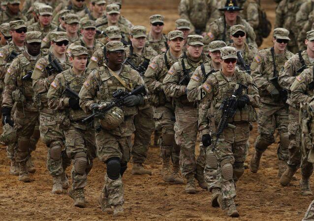 Soldati americani nei Paesi baltici (foto d'archivio)