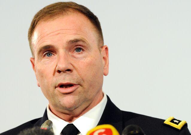 Ben Hodges, ex comandante dell'esercito USA in Europa (foto d'archivio)