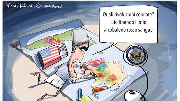 Kerry e le rivoluzioni colorate - Sputnik Italia
