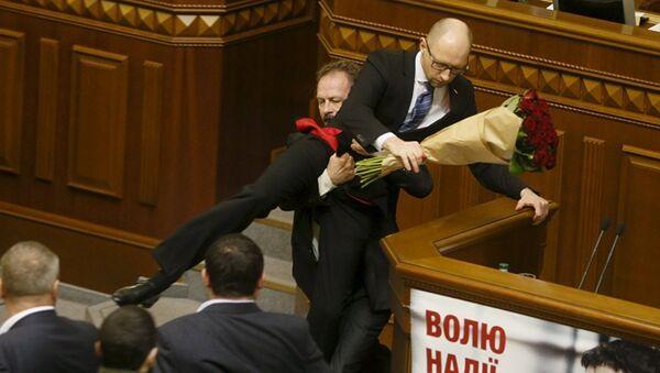 Wrestling alla rada di Kiev - Sputnik Italia