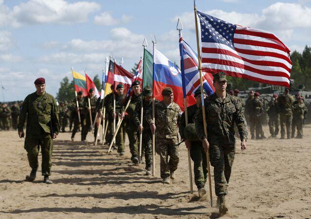 Esercitazioni NATO in Lituania (foto d'archivio)
