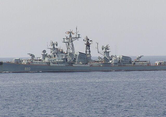 Nave di pattugliamento russa Smetlivy (foto d'archivio)