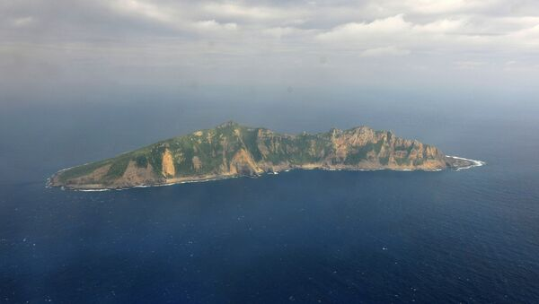Una delle isole al centro della disputa tra Cina e Giappone nell'arcipelabio Senkaku (in giapponese) e Diaoyu (in cinese). - Sputnik Italia
