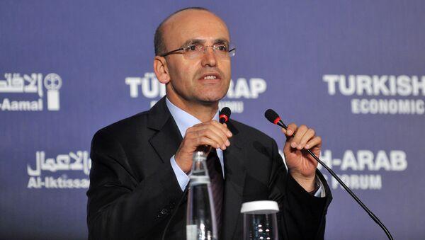 Vice premier della Turchia Mehmet Şimşek - Sputnik Italia