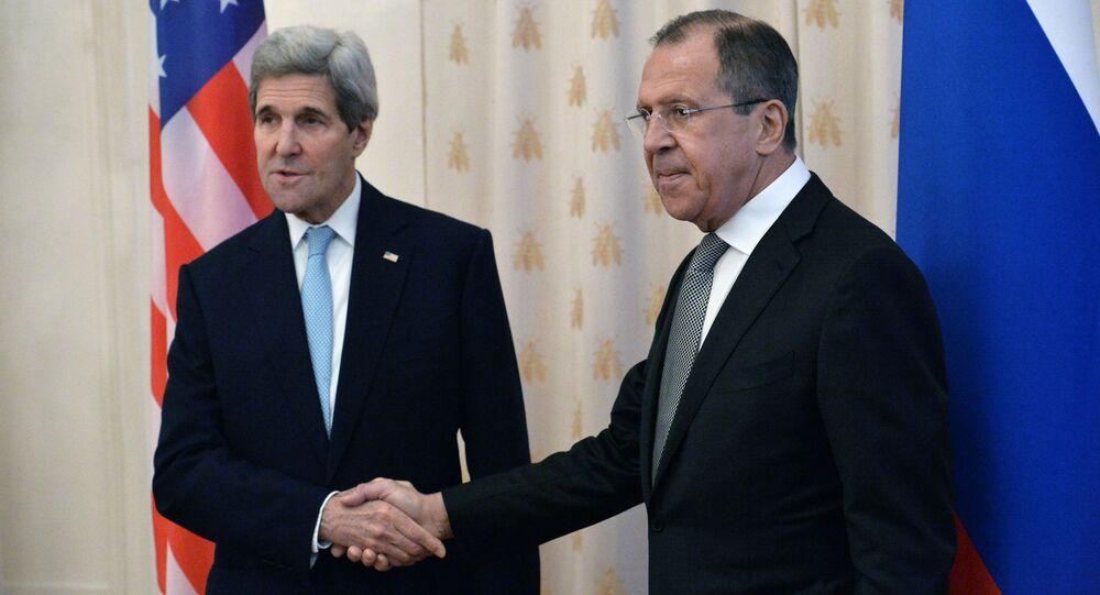 Incontro Lavrov-Kerry a Mosca (foto d'archivio)