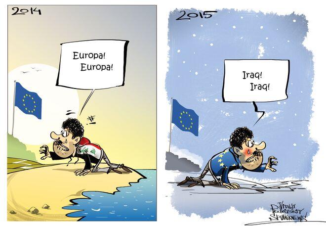 Migranti vogliono tornare a casa