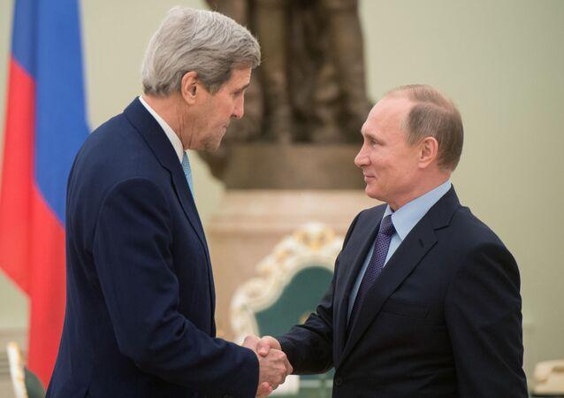 Incontro Putin-Kerry