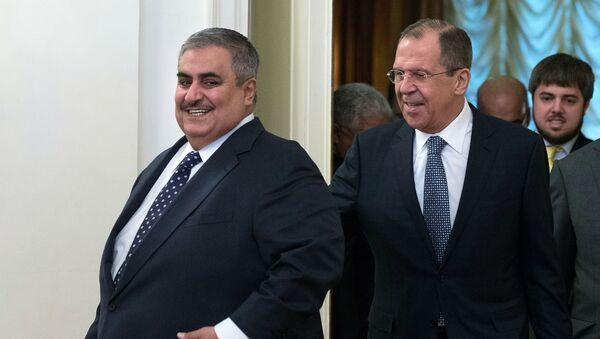 Incontro tra ministri degli Esteri di Bahrein e Russia - Sputnik Italia