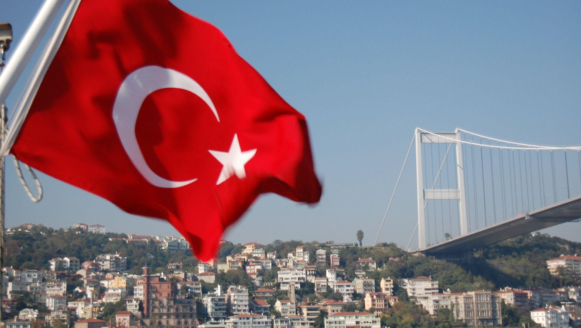 La bandiera turca - Sputnik Italia, 1920, 27.04.2021