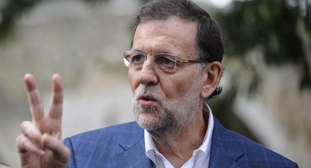 Mariano Rajoy, il primo ministro della Spagna