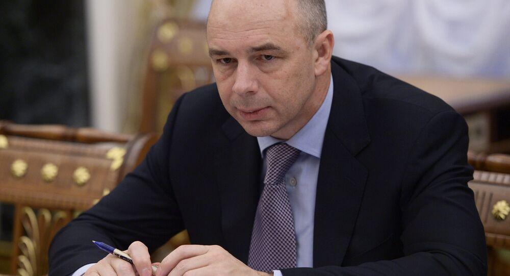 ministro delle Finanze della Russia Anton Siluanov