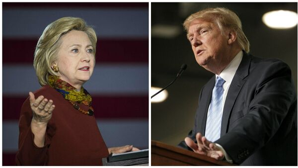 Hillary Clinton and Donald Trump - Sputnik Italia