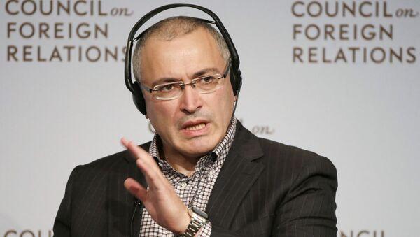Предприниматель Михаил Ходорковский - Sputnik Italia