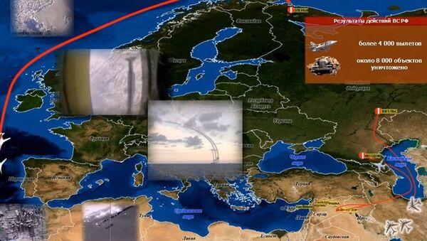 Video che spiega i raid russi in Siria - Sputnik Italia