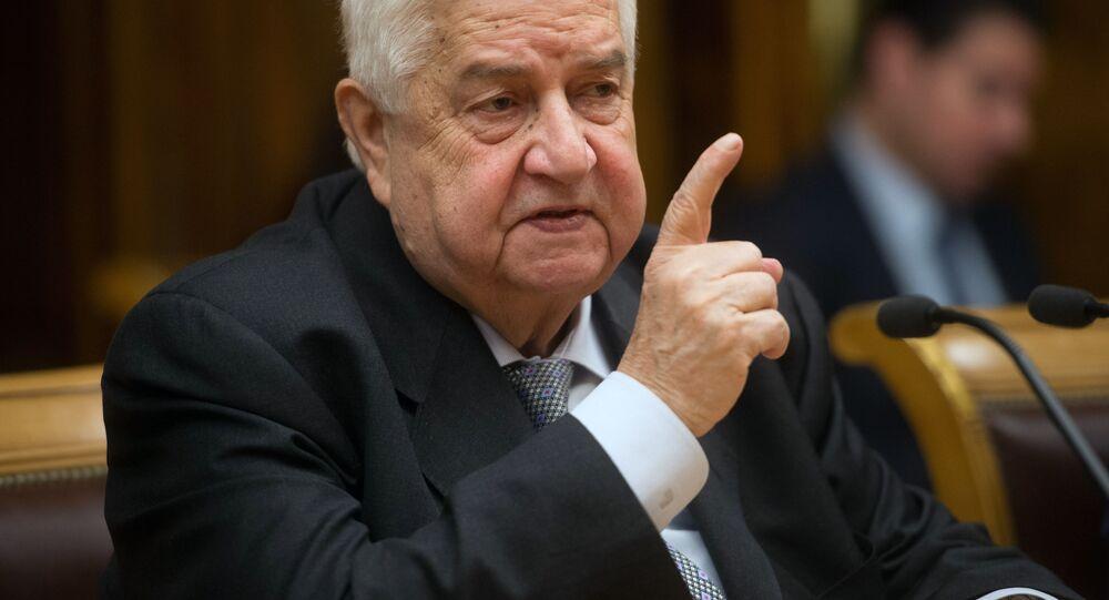 Walid Muallem, ministro degli Esteri siriano