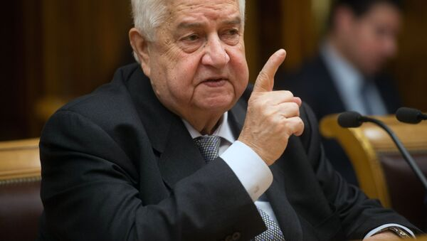 Walid Muallem - Sputnik Italia