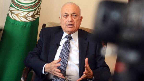 Segretario della Lega Araba Nabil Elaraby - Sputnik Italia