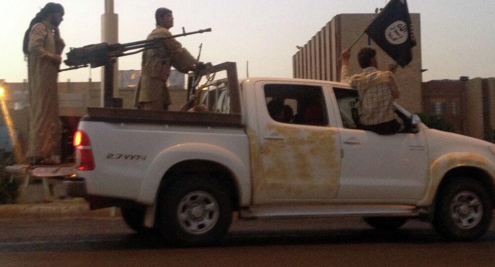 Combattenti del Daesh a Mosul