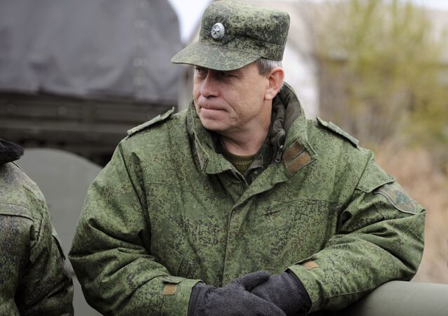 Eduard Basurin, vice comandante milizie DNR