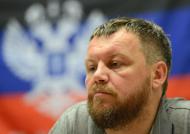 Andrej Purgin, portavoce DNR