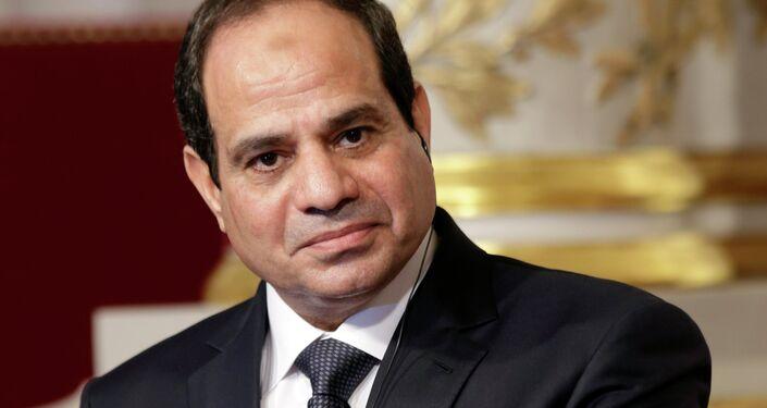 Presidente dell'Egitto Abdel Fattah al-Sisi