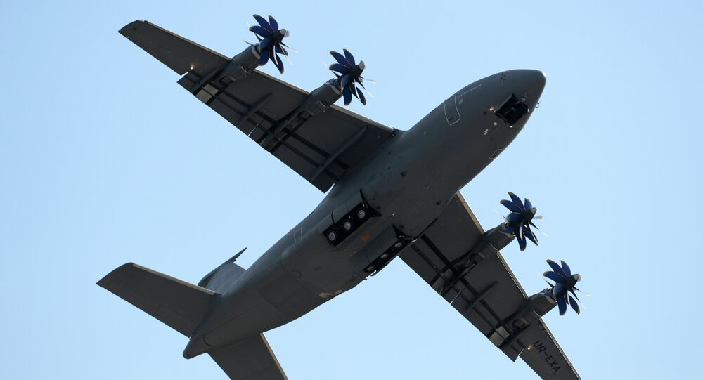 Aereo militare cargo An-32