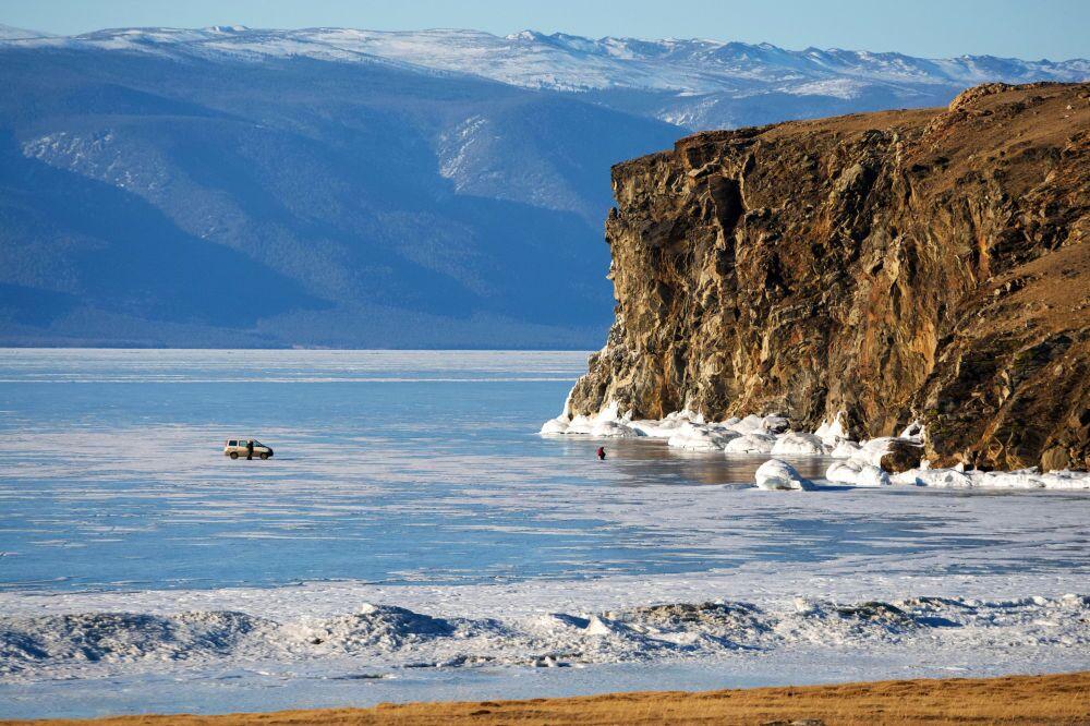 L'isola Olkhon nel lago Bajkal.