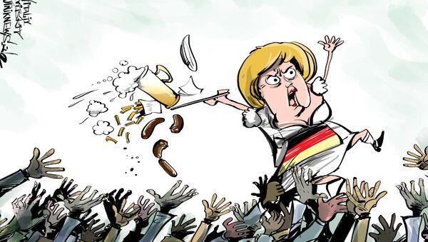Germania stanzierà 17 miliardi di dollari per fronteggiare la crisi migratoria nel 2016 - Sputnik Italia