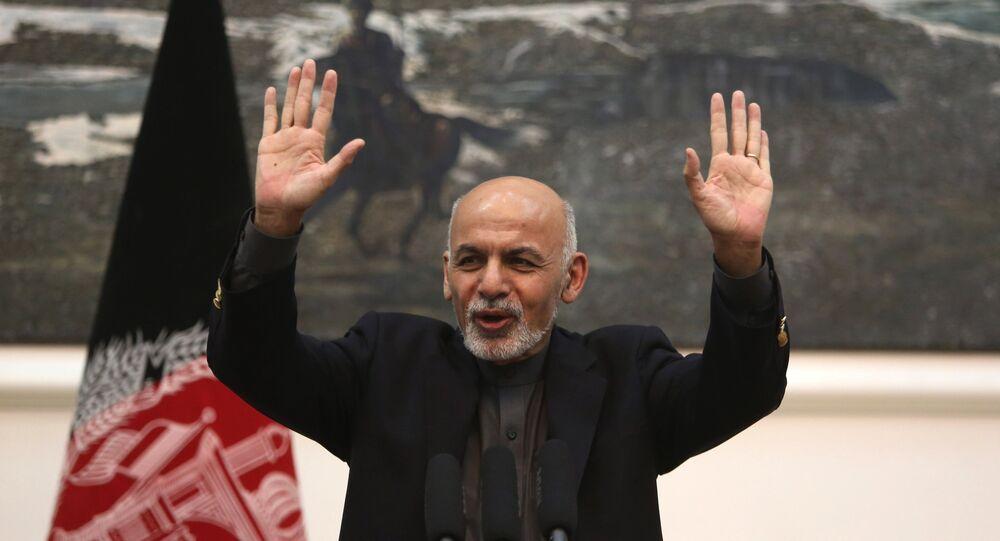 Ashraf Ghani, il presidente dell'Afghanistan