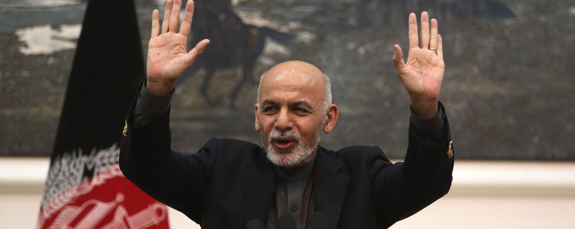 Ashraf Ghani, il presidente dell'Afghanistan - Sputnik Italia, 1920, 15.08.2021