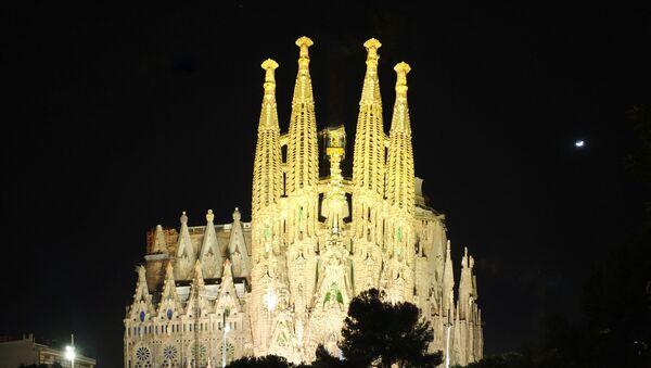 Храм Святого Семейства в Барселоне, Испания - Sputnik Italia