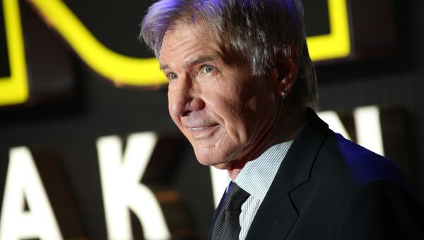 Harrison Ford durante la prima del film 'Star Wars a Londra. - Sputnik Italia