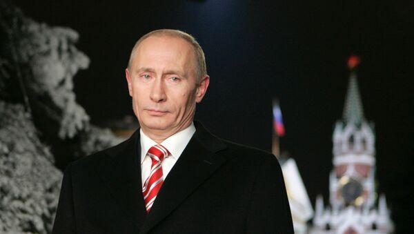 Putin Wishes Russians Happy New Year - Sputnik Italia