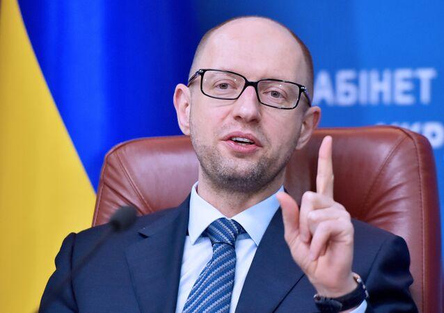 Il premier ucraino Arseniy Yatsenyuk