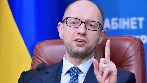 Il premier ucraino Arseniy Yatsenyuk - Sputnik Italia