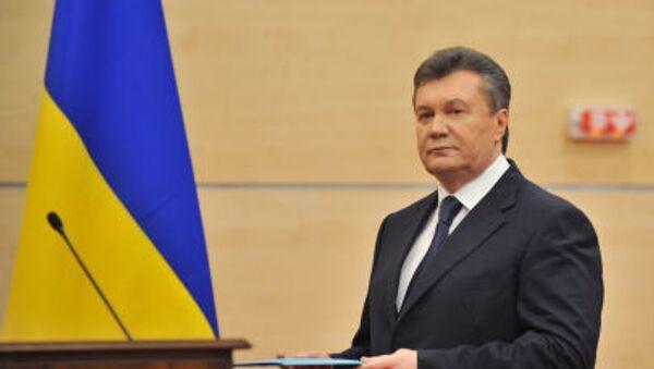 Бывший президент Украины Виктор Янукович - Sputnik Italia