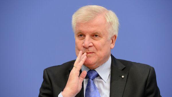 Leader of CDU Bavarian allies Christian Social Union (CSU) Horst Seehofer - Sputnik Italia