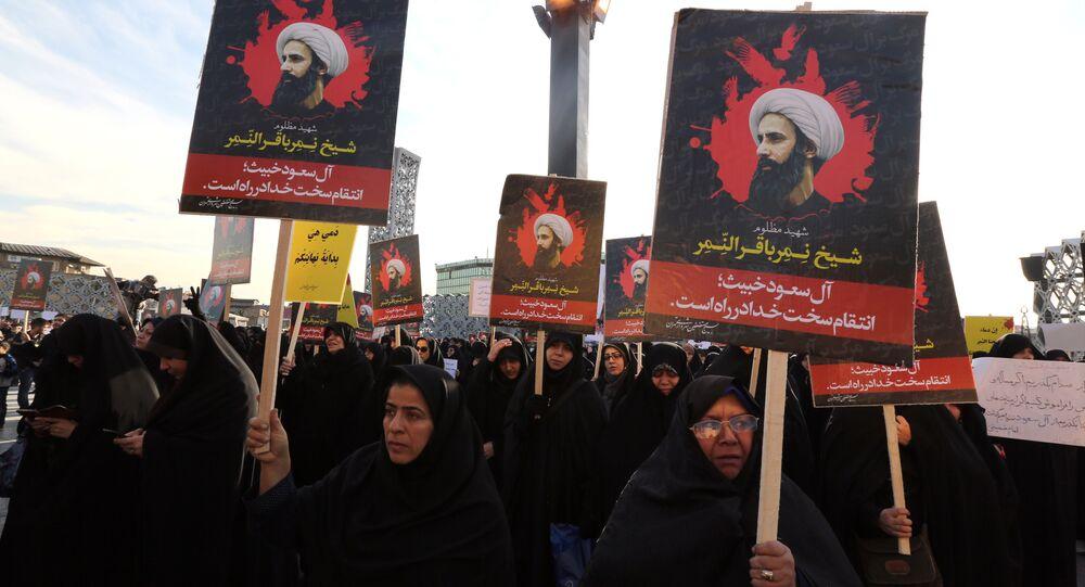 Manifestazione donne sciite a Teheran