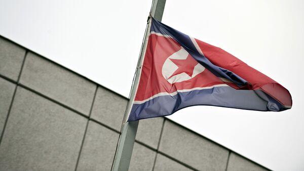 Bandiera della Corea del Nord - Sputnik Italia