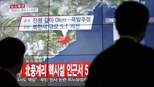 Test nucleare della Corea del Nord - Sputnik Italia